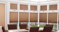 Pleated-Conservatory Blinds
